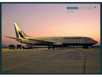 Orenair - Orenburg Airlines, B.737