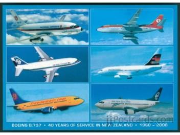 40 Jahre Boeing 737 in Neuseeland