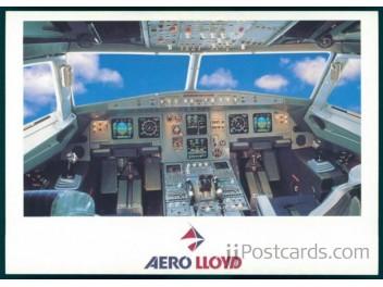Cockpit, Aero Lloyd A320/320
