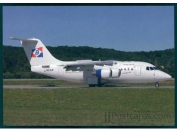Malmo Aviation Avro Rj70 Jjpostcards
