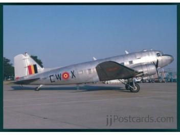 Ass. France DC3/Belgium AF, DC-3