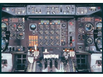 Cockpit, JAL, B.747