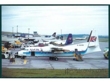 Aberdeen: Air UK F27, BA ATP+767