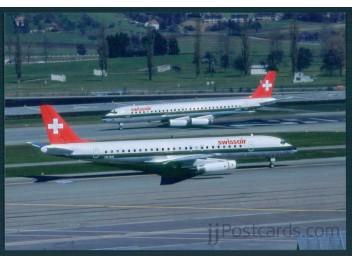 Swissair, DC-8