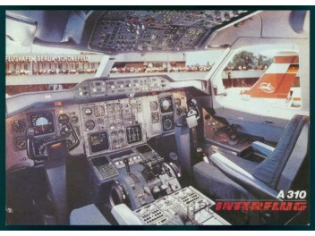 Cockpit, Interflug A310-303