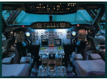 Cockpit, Swissair A310-221