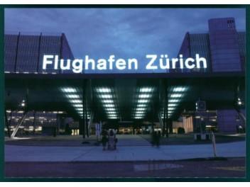 Zurich: terminal, bus station