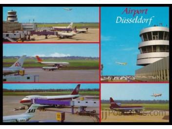 Airport Dusseldorf, 5 views