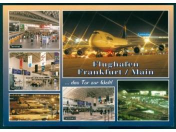 Airport Frankfurt, 5 views