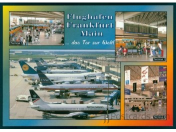 Airport Frankfurt, 4 views