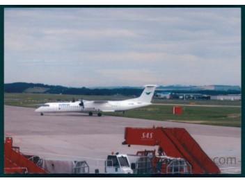 Aberdeen: Wideroe DHC-8