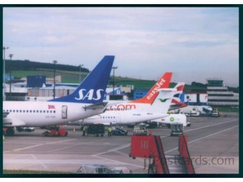 Aberdeen: SAS Norge 737, Wideroe