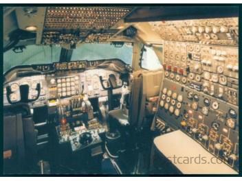 Cockpit, Sabena B.747-328