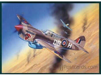 Royal Air Force, P-40 Warhawk