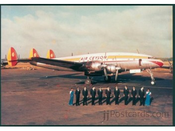 Air Ceylon Constellation, Crew