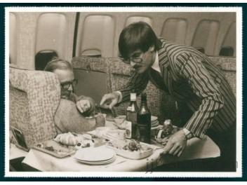 Swissair, cabin/steward