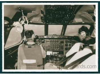Cockpit, Swissair CV-990 Coronado