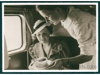 Cabin/stewardess, tea service