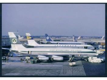 Aer Lingus B.720, Lufthansa B.707 etc.