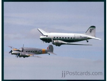 Air Atlantique DC-3, RAF Avro Ansen