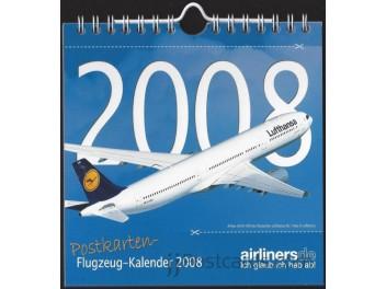 Calendar 2008, 12 postcards