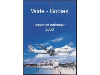 Kalender 'Wide-Bodies' 2000, 13 AK