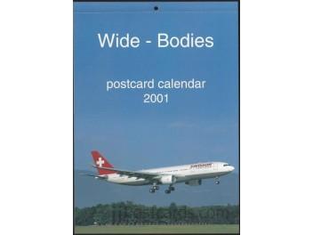 Kalender 'Wide-Bodies' 2001, 13 AK