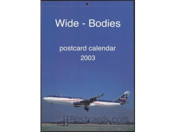 Kalender 'Wide-Bodies' 2003, 13 AK