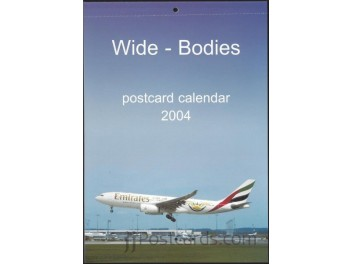 Calendar 'Wide-Bodies' 2004, 13 cards