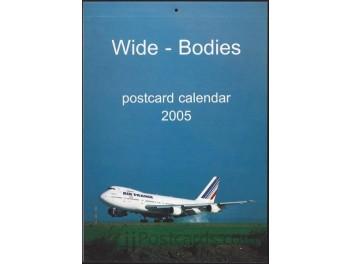 Kalender 'Wide-Bodies' 2005, 13 AK