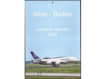 Calendar 'Wide-Bodies' 2006, 13 cards