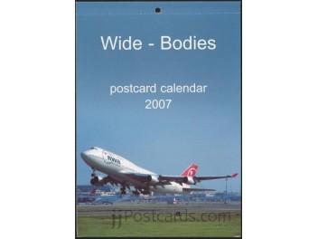 Kalender 'Wide-Bodies' 2007, 13 AK