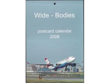 Calendar 'Wide-Bodies' 2008, 13 cards