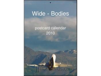 Calendar 'Wide-Bodies' 2010, 13 cards
