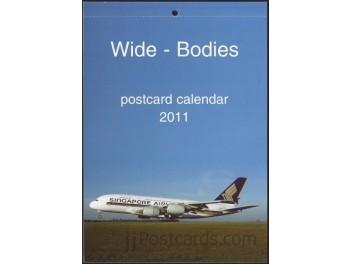 Calendar 'Wide-Bodies' 2011, 13 cards
