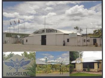 Alice Springs Historical, 4-Bild-AK