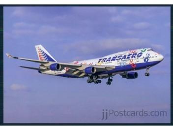 Transaero, B.747