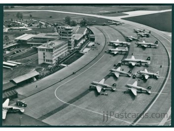 Zurich: Swissair DC-3+DC-4, etc.