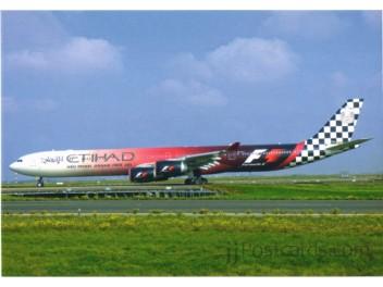 Etihad, A340