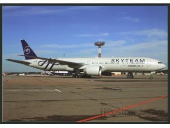Aeroflot/SkyTeam, B.777