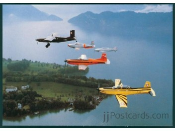 Air F. Switzerland, P-2, P-3, PC-6, etc.