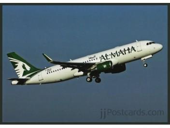 Al Maha Airways, A320