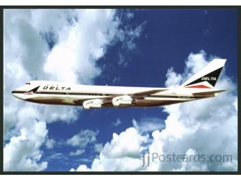 Delta Air Lines, B.747