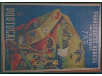 Lisbon, ANA Museum: TAP poster