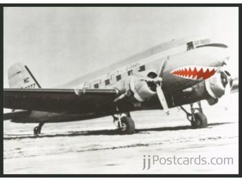 Flying Tigers, DC-3/Art work