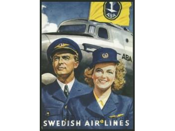ABA, DC-3/Pilot, Stewardess