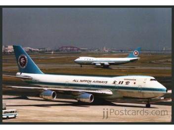 ANA - All Nippon, B.747