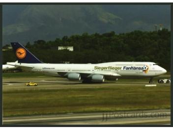 Lufthansa, B.747