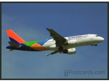 Eritrean Airlines, A320