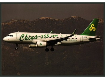 Spring Airlines, A320